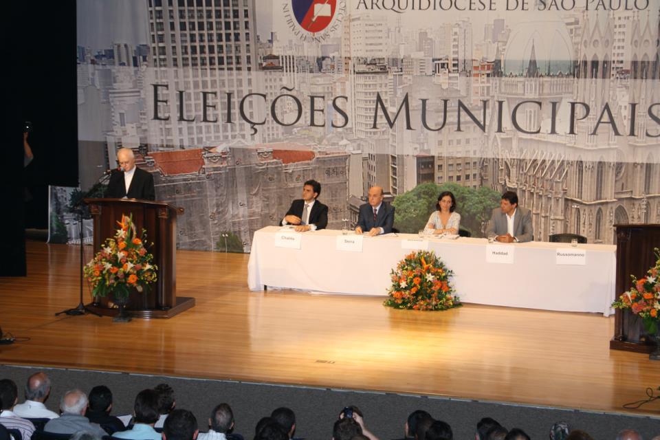 Prima Estúdio transmite ao vivo colóquio de candidatos à Prefeitura de São Paulo