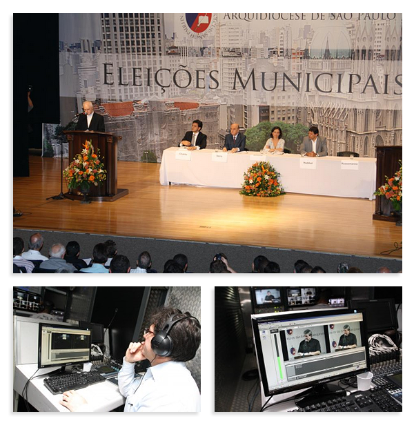 Webcast Colóquio com os candidatos - Arquidiocese de São Paulo