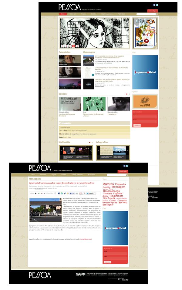 Site Revista Pessoa