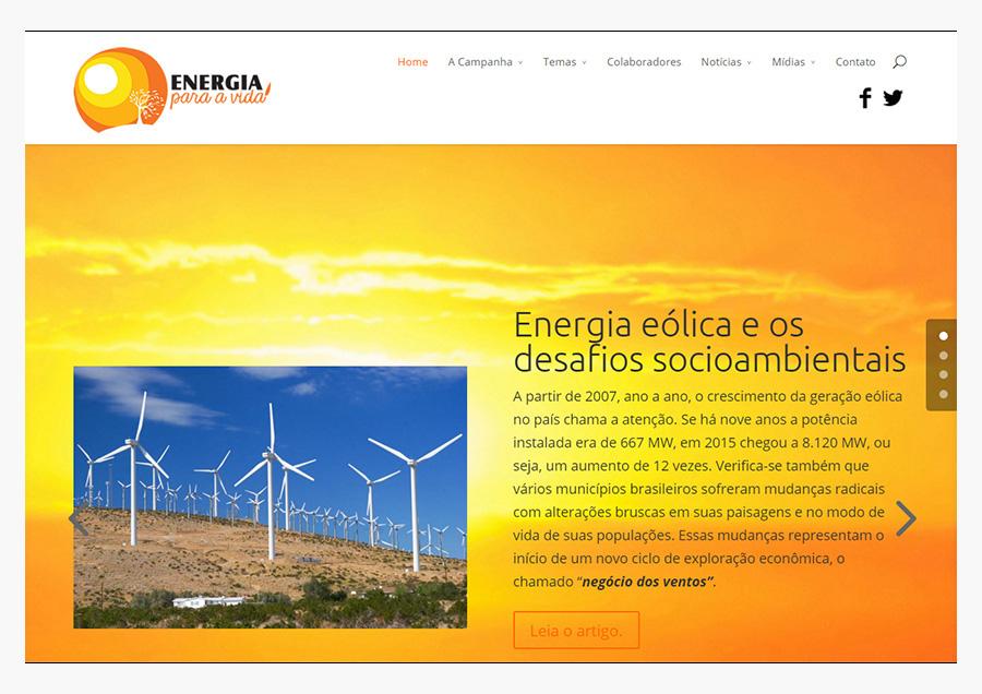 Campanha Energia pela Vida