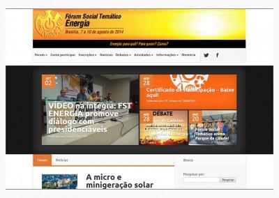 Fórum Social Temático Energia